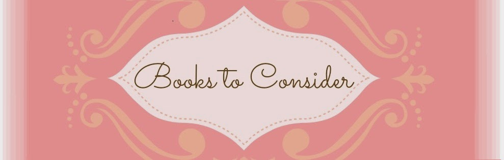 Books to Consider!