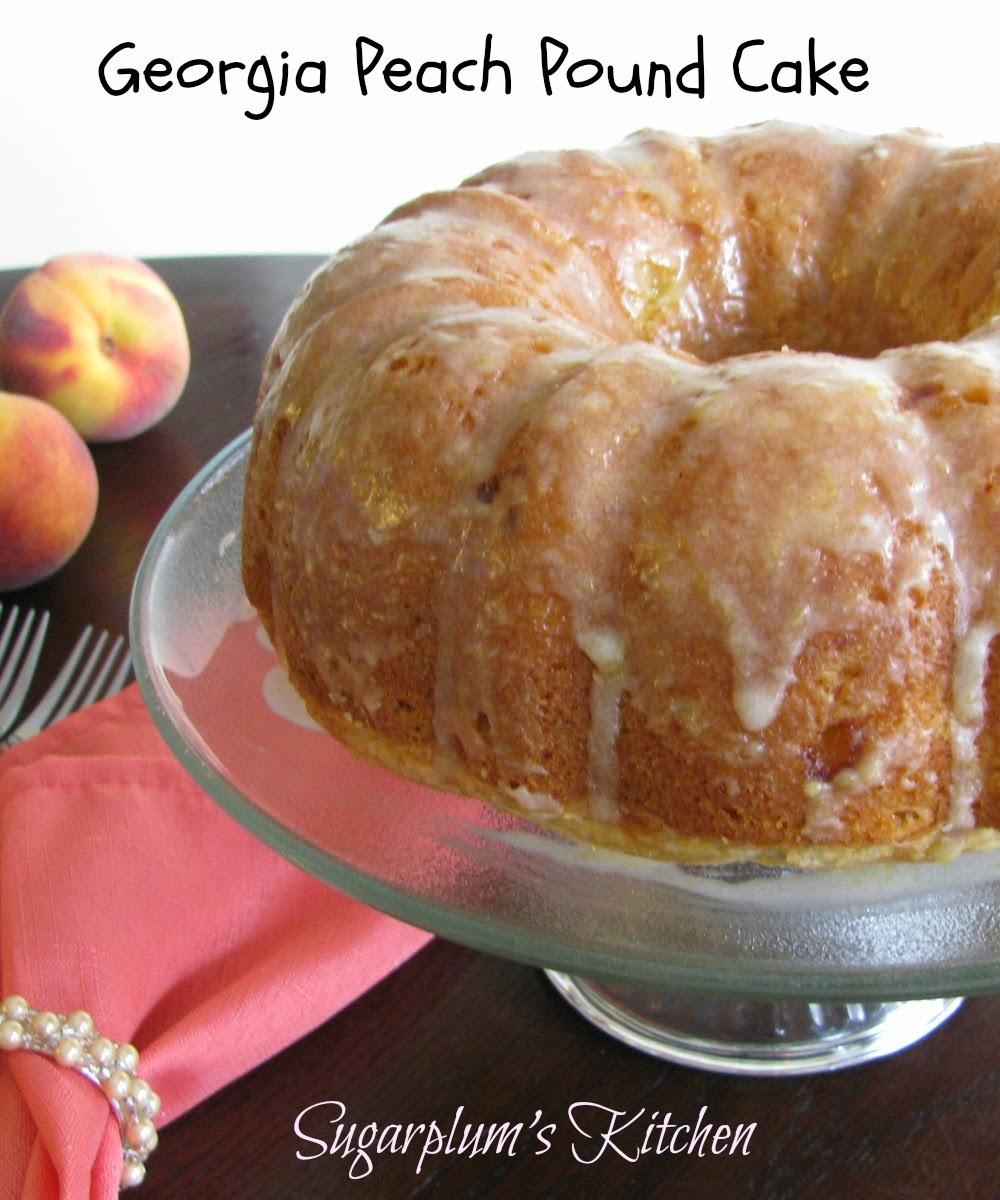 Sugarplum S Kitchen Georgia Peach Pound Cake