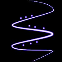 Fios de Luz Fundo Invisivel Light+7