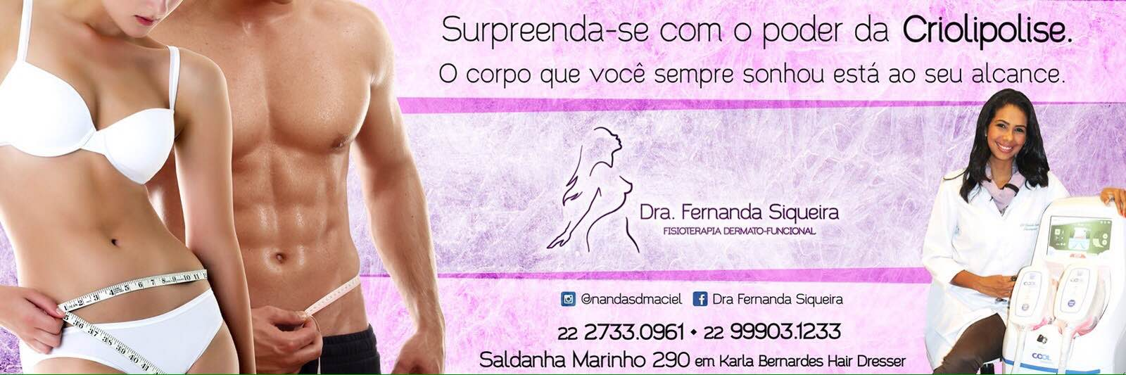 Fernanda Siqueira fisioterapeuta