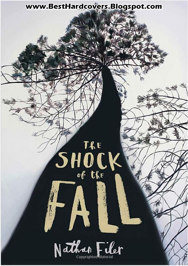 The Shock of the Fall by Nathan Filer Hardcover Book Novel Front Cover