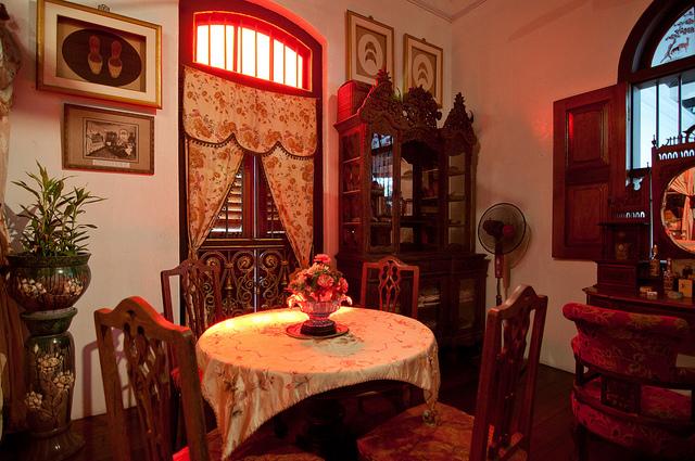 峇峇娘惹名贵古董和珍藏品