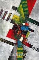 lukisan abstrak kubisme
