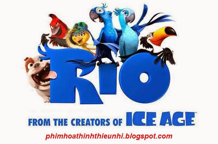 phim hoạt hình Vẹt đuôi dài Rio