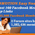 Facebook Member Groups links having 3,383,900 members and Forums having 1,382,436 members