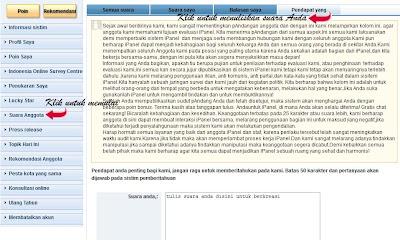 iPanel Online, survei online dibayar