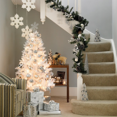 Christmas Decoration: Ideas for White Christmas trees!! | Before ...