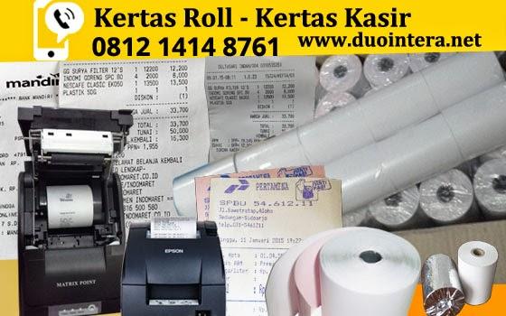 Kertas Roll Jakarta - Kertas Thermal Jakarta - Kertas SPBU - Kertas Kasir