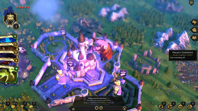 Armello Review king's castle