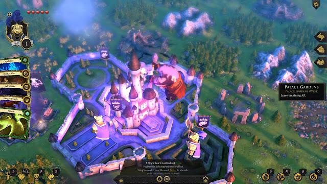 Armello Review king's castle