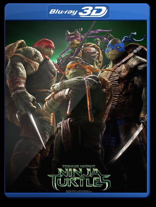 Las Tortugas Ninja 3D Bluray