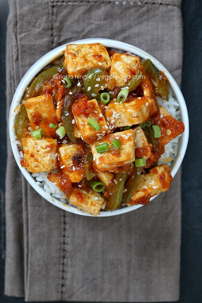 This saucy tofu is being shared at Allergy Free Wednesdays . rickis ...