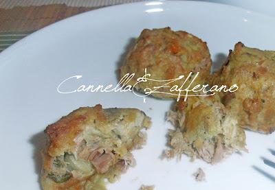 polpette di tonno e melanzane (non fritte)