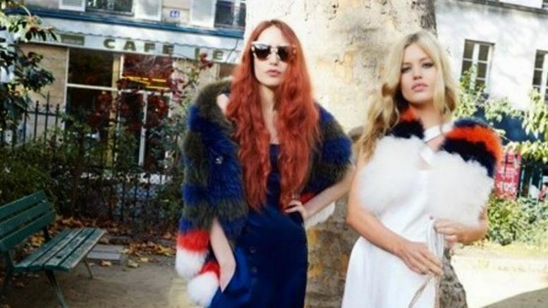 Οι κόρες του Μικ Τζάγκερ σε καμπάνια γαλλικού οίκου μόδας [Photo]