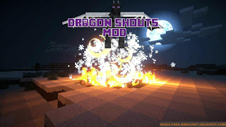Dragon Shouts Mod para Minecraft 1.7.10