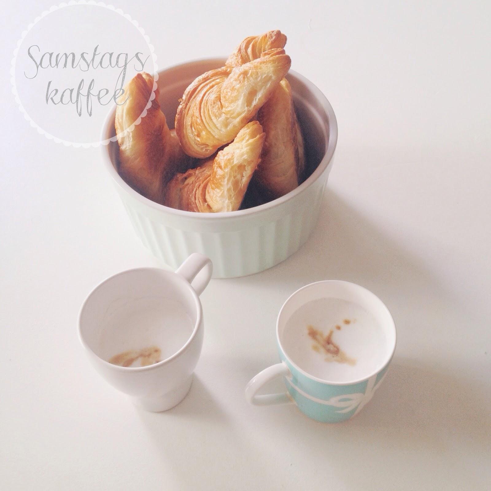 Samstagskaffee mit Freunden
