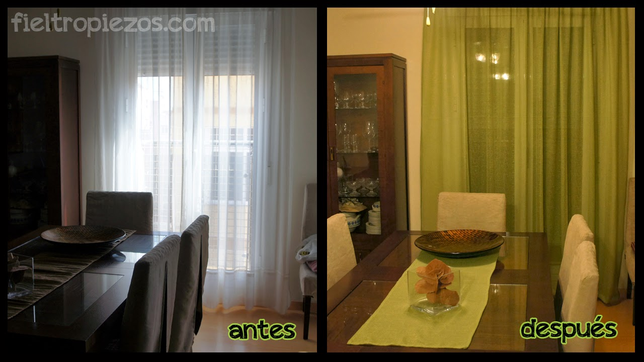antes y despues cortinas