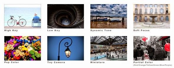 Fotografie di esempio dei filtri creativi Fujifilm X-M1