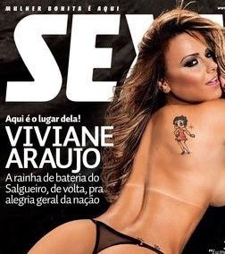 Capa da revista Sexy - Fevereiro 2012