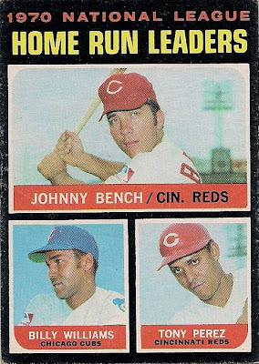 topps 1971 no 66   1970 national league home run leaders