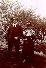 Lucy Annie Langthorn and husband Hugh Rodney Clark
