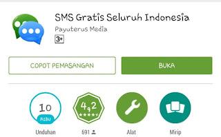 Aplikasi Android Kirim SMS Gratis ke Semua Operator