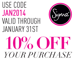 "Get 10% off Using Code ""JAN2014"""