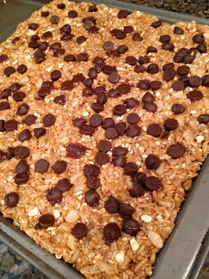 No-Bake Biscoff Granola Bars - Life in the Green House