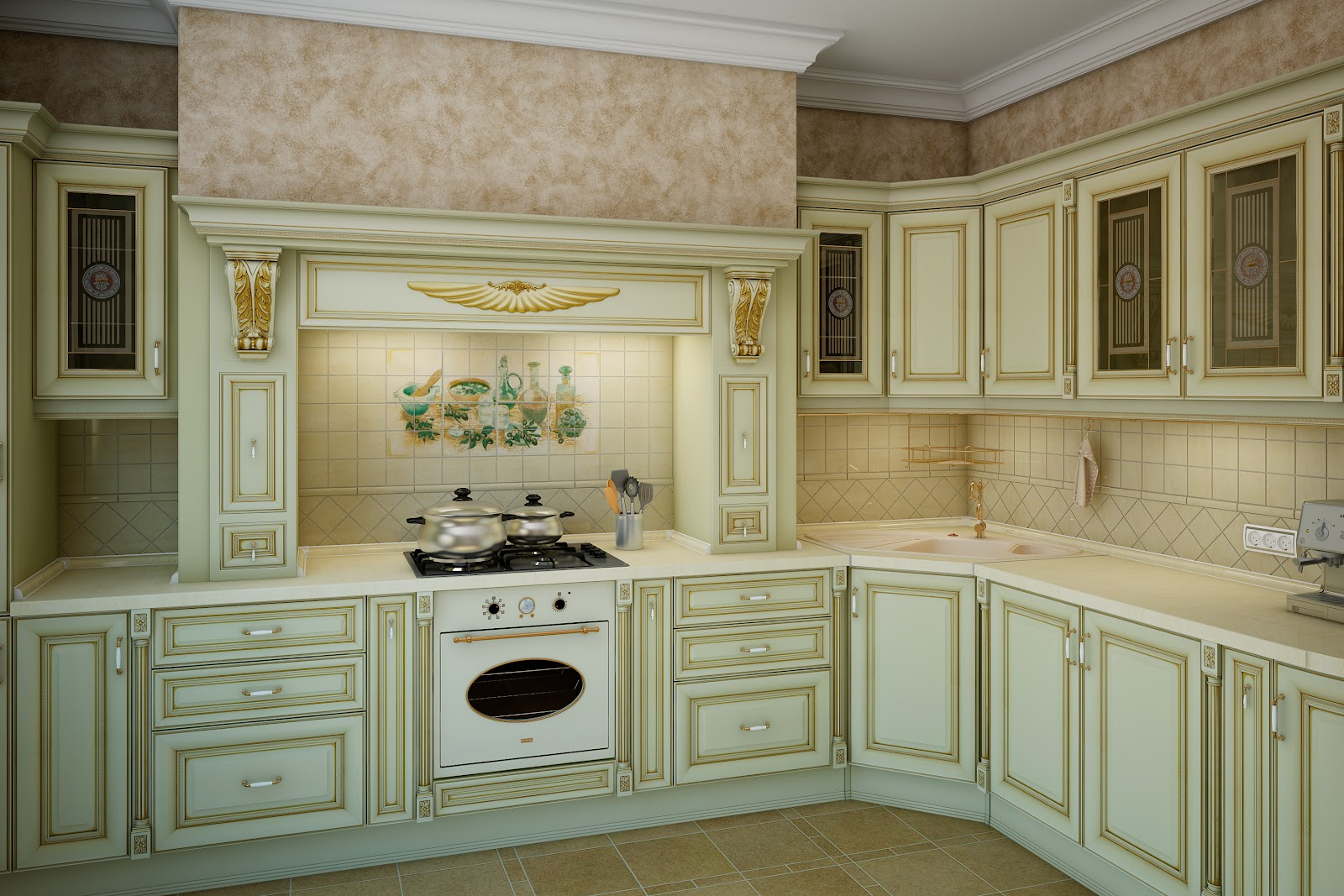 Кухни nika bianca мебельная фабрика мария