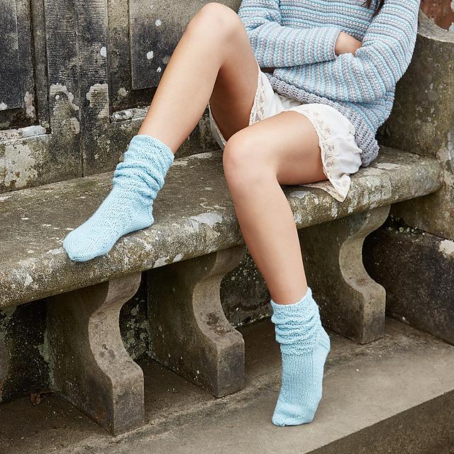 Jasper sock pattern by Katya Frankel for Yarn Stories