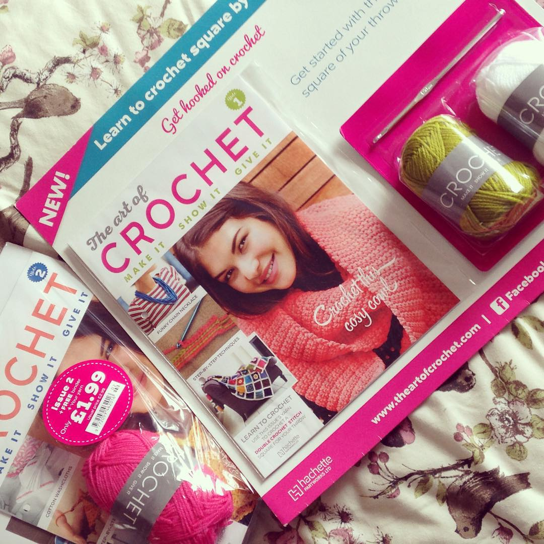Heart & Sew: The Art of Crochet Magazine Review
