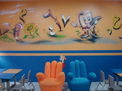 School Wall Ideas, School Painting Ideas, Wall Painting Ideas, Painting School Walls Ideas