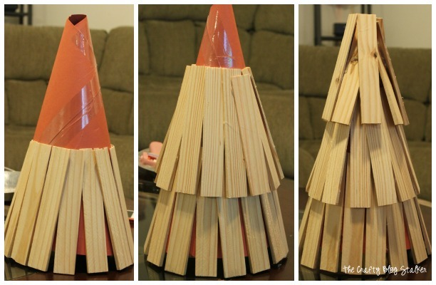 Create your own wood Christmas Tree