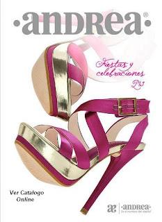 zapatos de fiesta andrea 2013