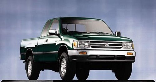 Famous Car Manual  1996 Toyota T100 Service Factory