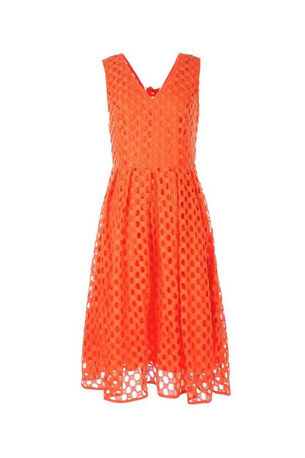 Νew Arrival ! Coral φορεμα δαντελα