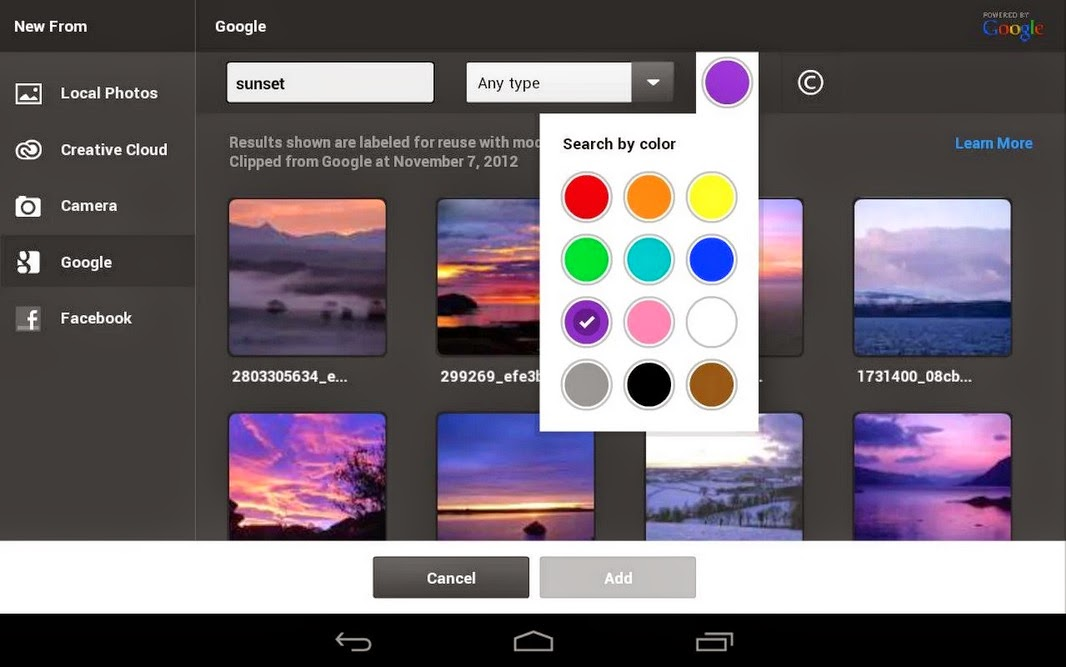 Photoshop Touch for phone Android - Aptoide i in APK indir