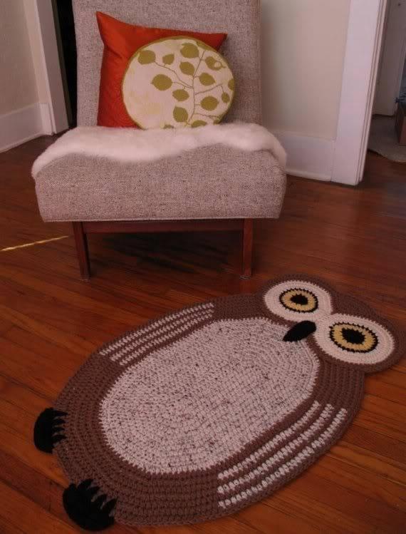 Связать коврик крючком умный дом фото