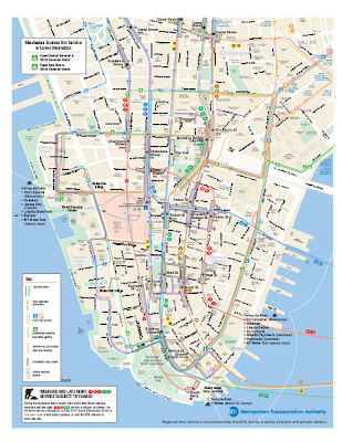 Manhattan Subway Map
