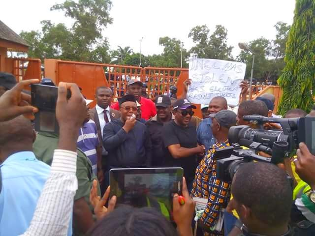Photos from the mass protest that took place in Akwa-Ibom 6