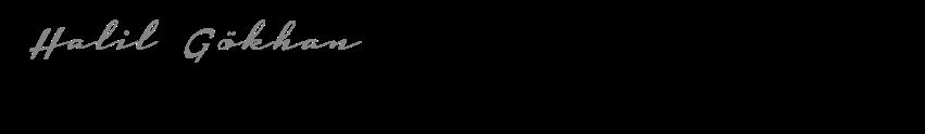 Halil Gökhan