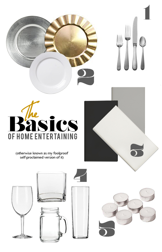 Home Entertaining Essentials