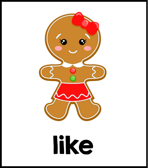 Mrs. Gilchrist's Class: Gingerbread Activities for Sight Words!