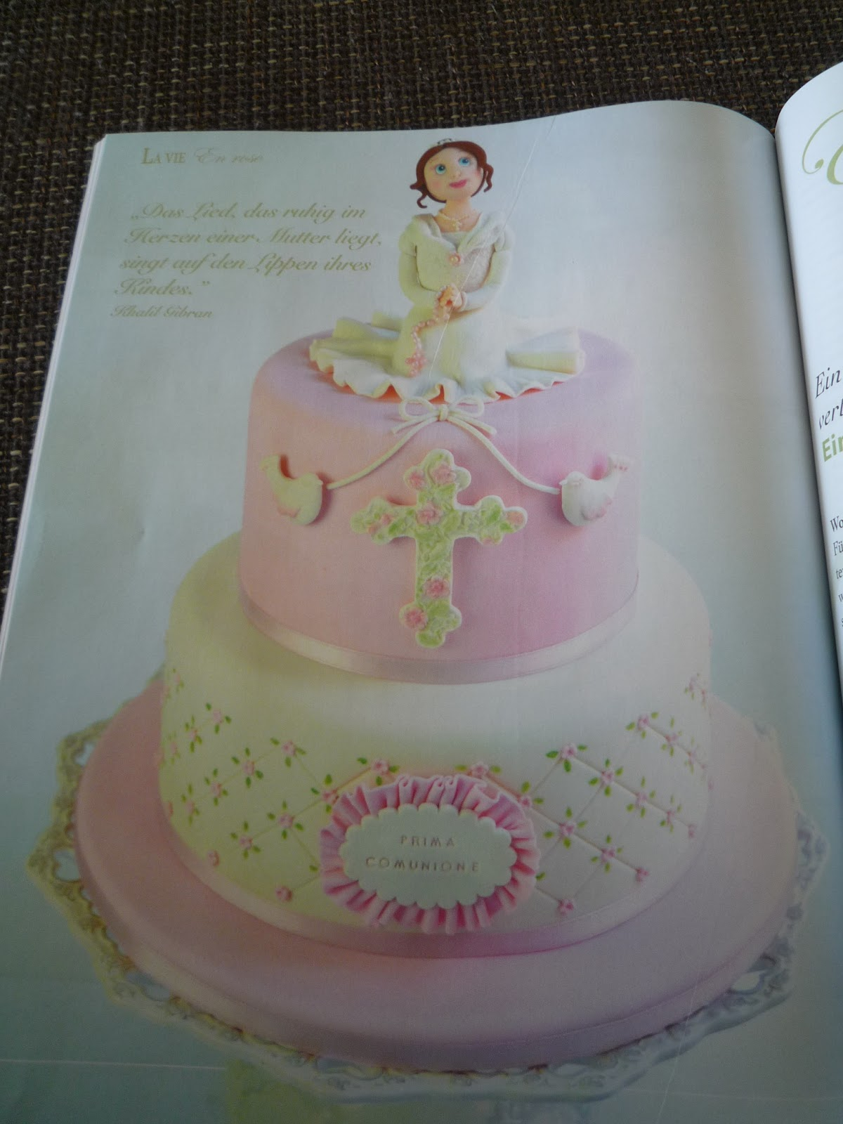 CakeArt Spezial, Torten, Taufe, Kommunion, Konfirmation, Ron Ben Israel,Tortenzeitung, Tortenzeitschrift, Tortenmagazin