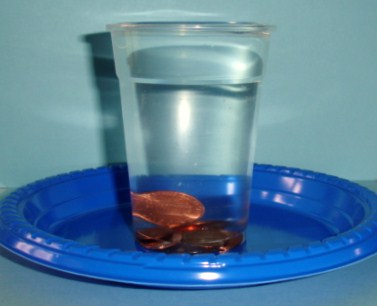 surface tension of deionized water experiment Here are some simple experiments using surface tension:  the value of the  surface tension of the distilled water is 7,42 g/m at.