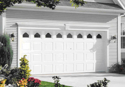 White Garage Door Color Ideas