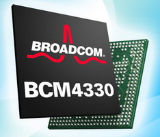 Broadcom BCM4330 announced, features dual band WiFi 802.11n, Bluetooth 4.0, FM radio support