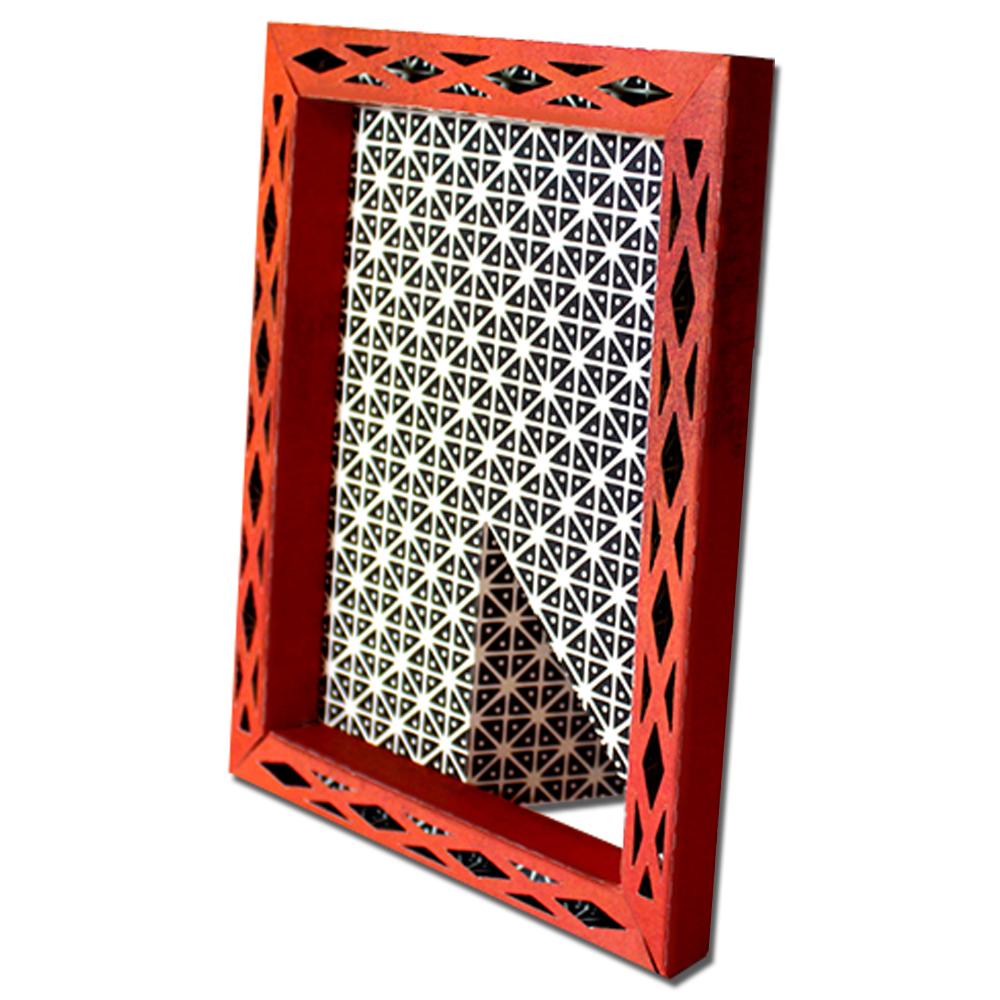 Jmrush Designs Lattice 3d 4x6 Frame