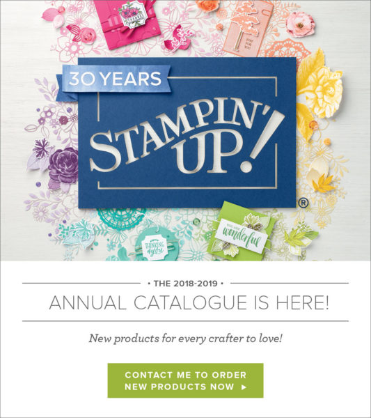 Stampin'up Annual Catalogue