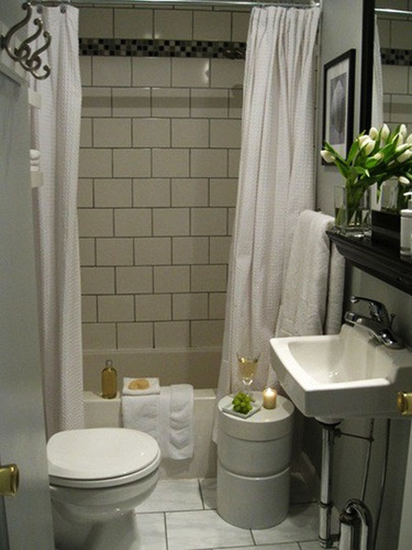Cuarto De Baño Pequeno Ideas:Small Bathroom Design Ideas